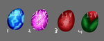 Dragon Eggs Set Paypal(open) by 11newells