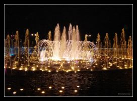 The Musical Fountain by DaMonne
