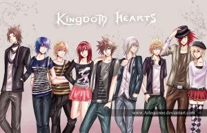 Kingdom Hearts compilation by Arlequinne