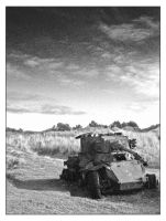 the old army tank by deepset