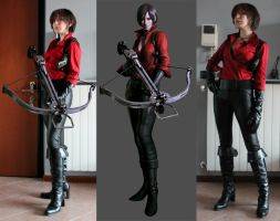 RE6 Ada Wong WIP by MuzzaThePerv