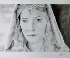 Galadriel from Lord of the Rings by dogwalla