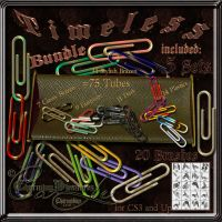 Timeless-75 PaperClip-BUNDLE by Charmadige