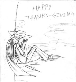 happy thanksgiving by DJ-DeathJester