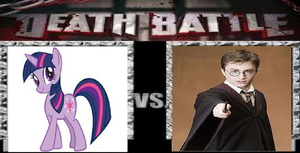 Death Battle: Twilight Sparkle vs. Harry Potter by Cyndaquil123