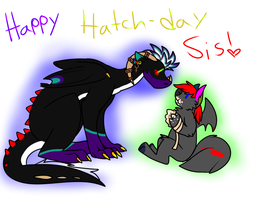 happy h dAY sis by SPAC3D3AD