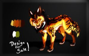 Wolf Design for Sale by emerald-song