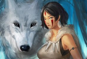 Mononoke Hime by Readman
