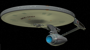 Enterprise Refit Anim8or by enterprisedavid