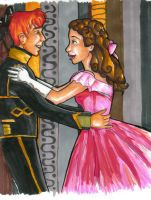 Ron and Mione at a Masquerade? by bachel60