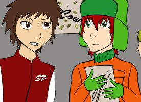 SP-Clyde and Kyle by josy-style