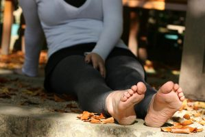 Autumn Feet 005 by foot-portrait