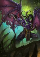 Illidan by Dark-ONE-1
