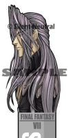 Sephiroth: bookmark by Silent-Neutral
