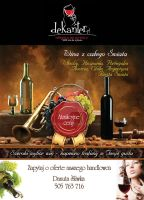 wine flyer for dekanter by benny89sl