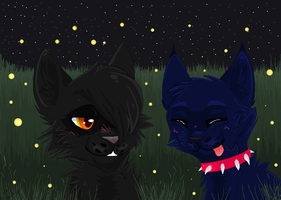 .:Fireflies:. -AT- by Silverstream15