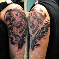 Eagle Tattoo Sleeve by gettattoo