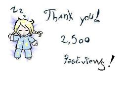 2,500 hits pic for Linda by Maadi