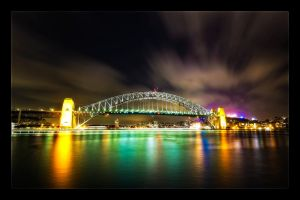 Sydney Harbour Bridge by WiDoWm4k3r