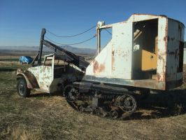 Half Track Backhoe 2 by ackpack34