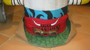 Big Hat-Front view detail 1 by BossHossBones