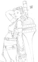 sketch-for-Getas-PanChan by theCHAMBA
