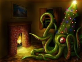 Yule Squid by hwango