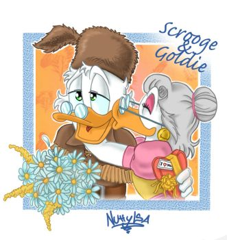 Scrooge and Goldie by NuttyIsa by TheScroogeCrew