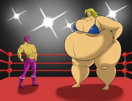 Claire vs the Masked Avenger 1 by FatClubInc