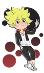 Bolt Uzumaki by HwayoungMarshmallow