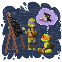 TMNT-Lesson by xXUnicornXx