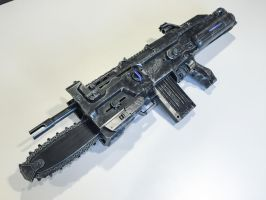 Gears of War Lancer Custom Nerf Gu by nwdeal2