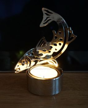 Salmon Candle Holder #2 by inoxdreams