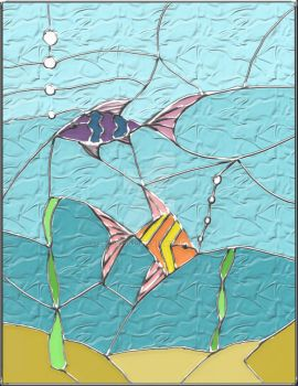 Sketched 'Stained glass' window by Zel8339816