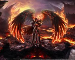 fiery angel by PageviewsForPoint