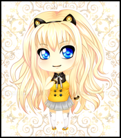 SeeU - Vocaloid Chibi by SuupaaRabito