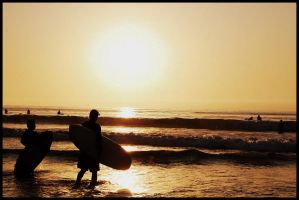 Surfing to the sun by bremex
