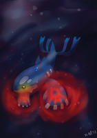 Kyogre by elenawing