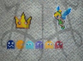 PBA - Kingdom Hearts Crown, Tinkerbell, Pacman by Snow-Storm-Wanderer