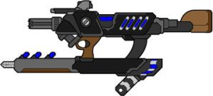 Avillion .30 compact liquid metal rifle by madcomm