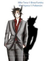 Traje Formal Mike by BrassYumiru