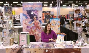 Artist Alley Table - Part 2 by AngelaSasser