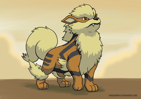 059 Arcanine by EnigmaBerry