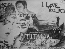My Black Ball Pen Sketch Of Titanic! by DICapriofan