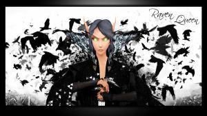 Wallpaper - Raven Queen by Aryiana-dzyn