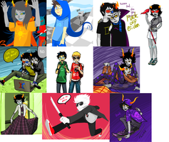 Binary Homestuck OH by Yobot