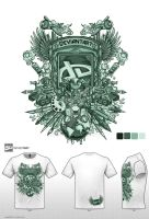 green da tshirt contest by jml2art