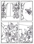 TransWarp: Csirac - Issue #4 page 4 inked by xdtaxundeadbuck01