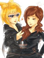 Lady Hee Hee + Teukyonce by Fiveonthe