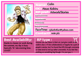 HSV Roleplaying Card (Atsuo) by Ram3nLuvr666